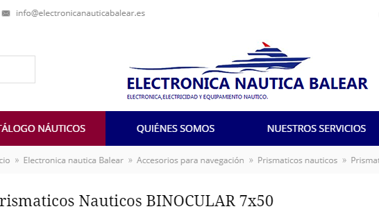 Tienda náutica en Mallorca