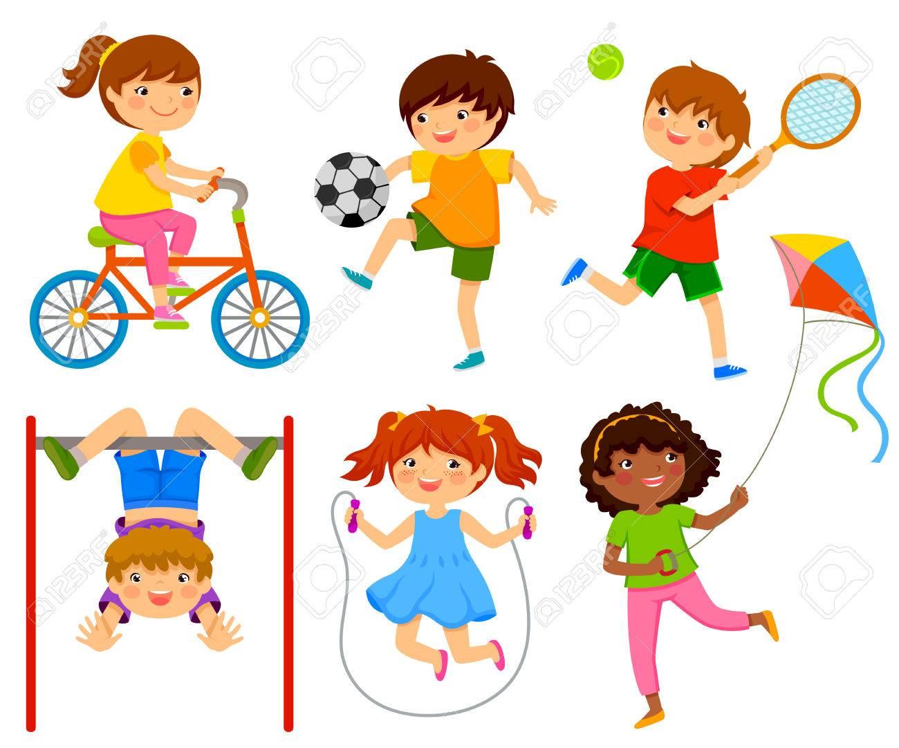 Rutina de ejercicios para niños